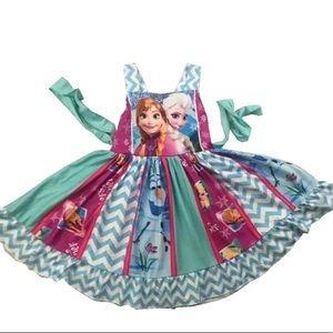 Other - Frozen Elsa Anna Twirl Beautiful Girl Dress
